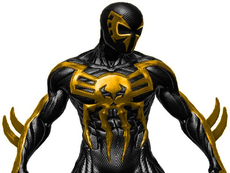 Spiderman 2099: Spiderman 2099 Black And Gold By XxDan-The-ManxX