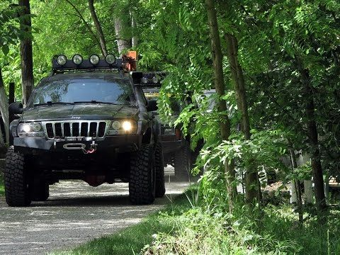 "Jeep Grand Cherokee WJ, 6"" lift kit, 35"" - YouTube"