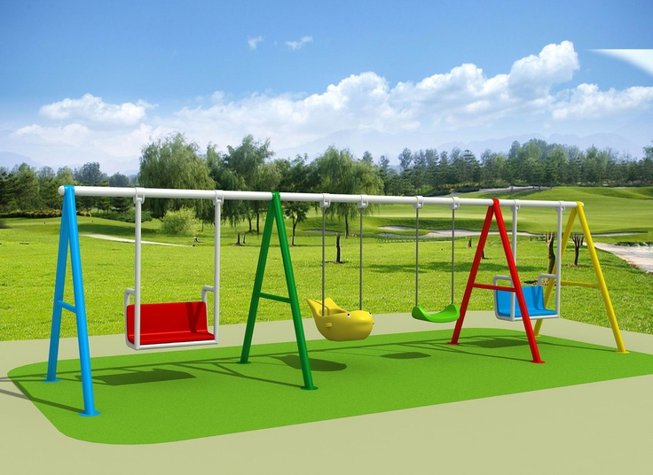 MONSTER SPRING GYM Swing set - Great if there are lots of kids, they can swing together. 6000 x 1500 x 1900  $1057.00  Visit us at www.playcubb.com.au