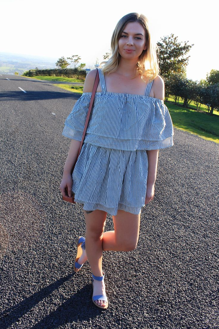 A POP OF COLOUR IN TULAROSA X REVOLVE It may seem weird that at this cooler time of year I am wearing a summer dress with sandals! However, last weekend