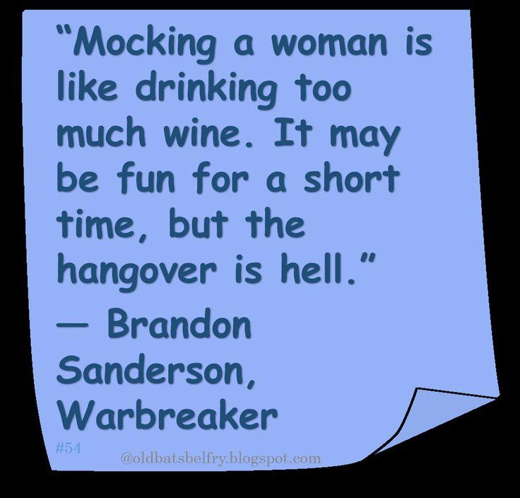 ♥ Brandon Sanderson ♥ #Quote #Women