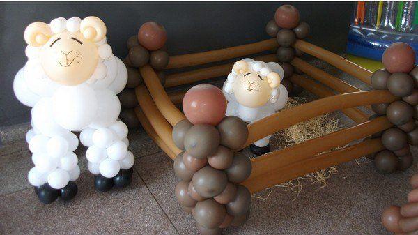 Cercadinho de ovelhas