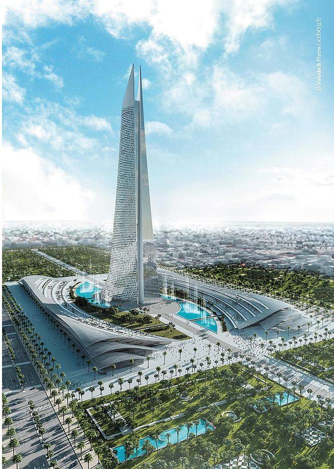 Valode & Pistre Set to Break Ground on Africa's Tallest Tower