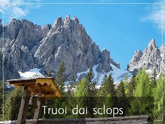 """""""Truoi dai sclops""""  Forni di Sopra Italy #dolomiti #dolomites"""
