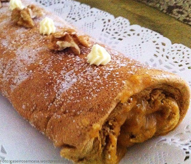 Receita Torta Nozes Recheio Doce Ovos | Doces Regionais