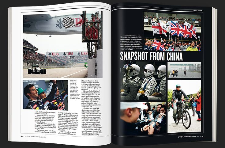 The Official 2014 yearbook gives a unique, access-all-areas pass behind the scenes of one of the most thrilling F1® seasons of recent years.