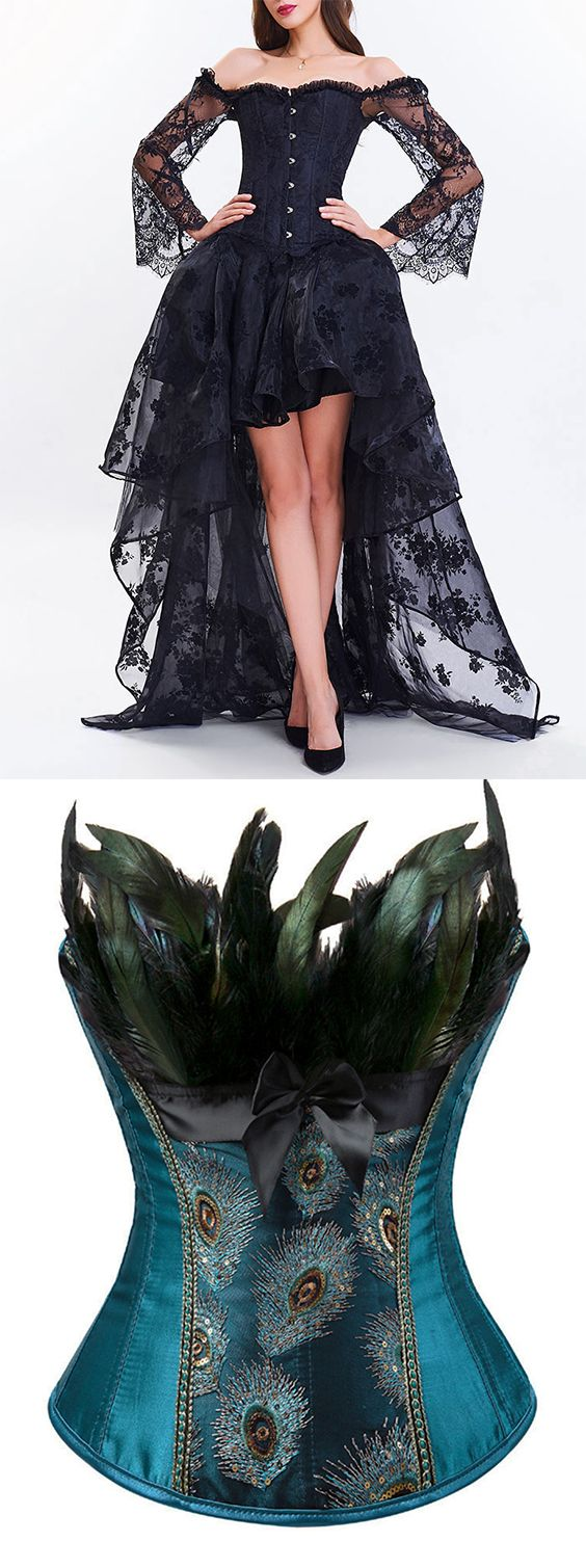 Just the peacock bodice