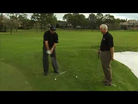 A Flop Shot Lesson With Phil Mickelson - YouTube