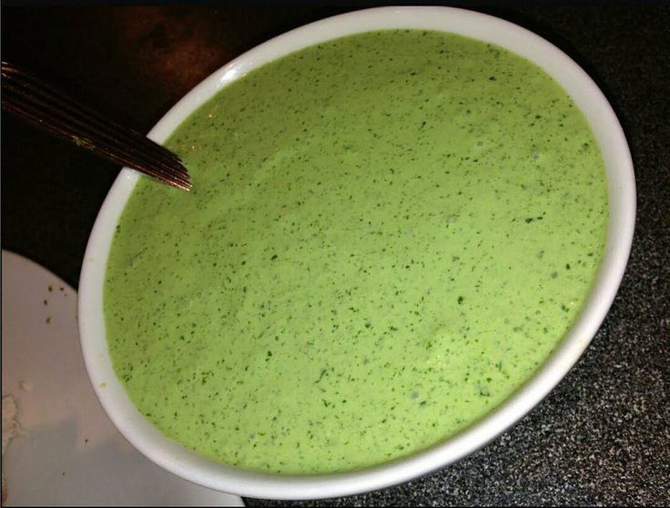 "Peruvian Spicy Green Sauce! """" @allthecooks #recipe #sauce"
