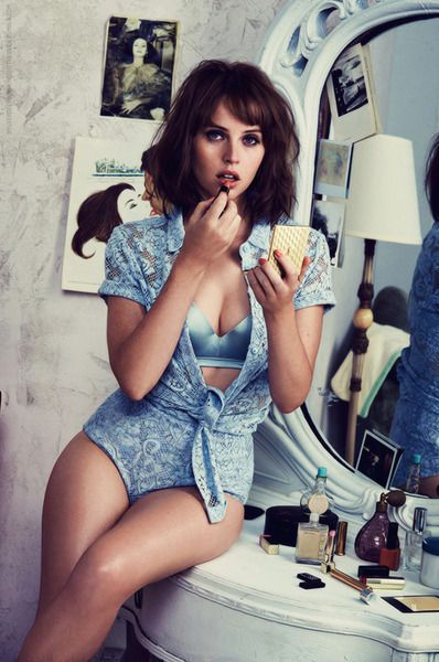 Felicity Jones - GQ - November 2014 how to make it sexy, photo shoot inspo.