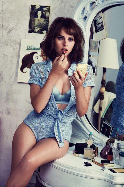 Felicity Jones - GQ - November 2014 how to make it sexy, photo shoot inspo.
