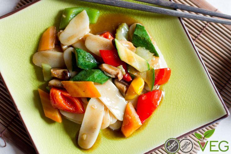 Gnocchi di riso cinesi - le ricette di lacucinavegetariana.it