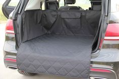 """Size 41""""Lx52""""Wx17.7""""H  Heavy Duty Quilted Non-slip Universal Size Pets Dog SUV Cargo Liner Cover/Cargo Cover standard size for most of compact and small SUVs,like HONDA CR-V, VW TIGUAN, TOYOTA RAV4, FORD EDGE EXPLORER ESCAPE,SUBARU FORESTER,BMW X5 etc"""
