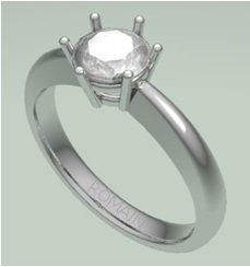 Another custom made #DiamondEngagementRing - In production and will be ready for delivery in 10 days.