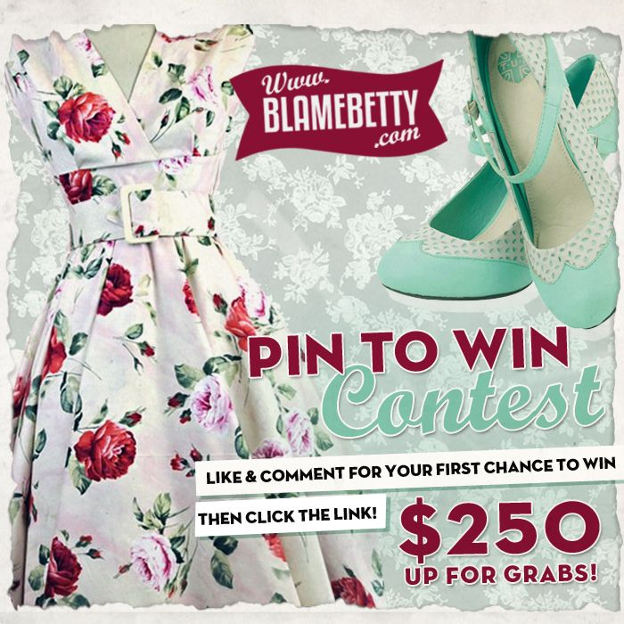 #blamebetty #gimmebb #giveaway