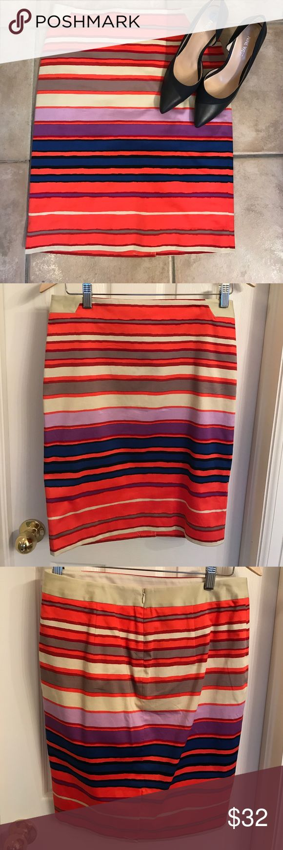 NWT The Limited Striped Pencil Skirt The Limited New With Tags Pencil Skirt. The Limited Skirts Pencil