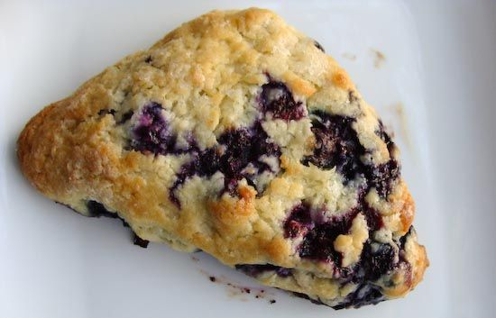 The best recipe for scones!! America's Test Kitchen Blueberry Scone