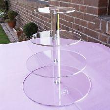 Tortenständer Acryl 4 stöckig 4 Etagen Tortenplatte Tortenetagere Hochzeitstorte