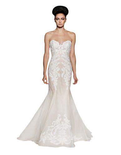 brands wedding gowns elisavet mermaid gown hudsons
