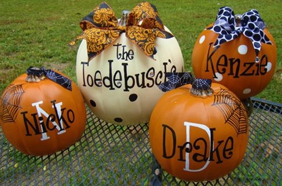 Best pumpkin decal art images on pinterest vinyl
