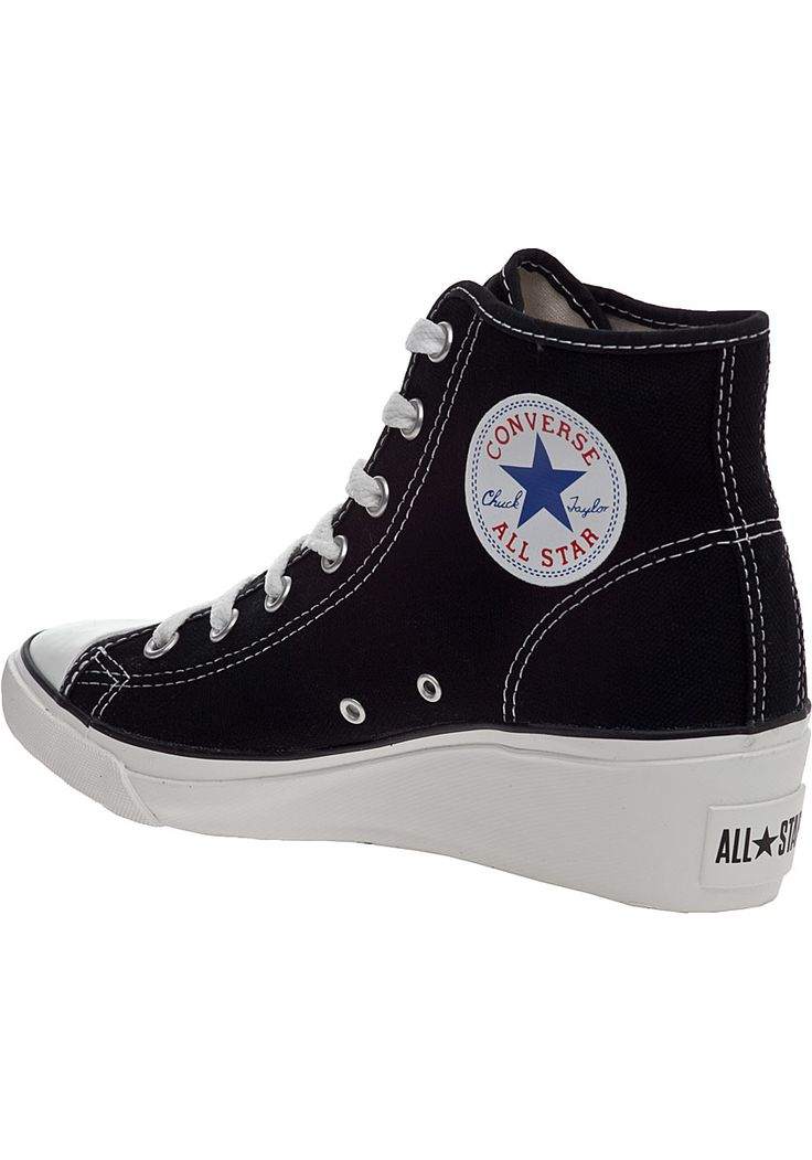 Converse Wedge Heels for Sale | Converse Women's Chuck Taylor Wedge Sneaker Black Canvas - Jildor ...