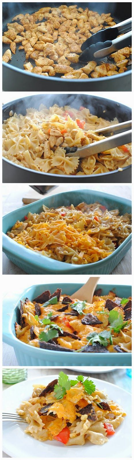 Mexican Chicken Pasta Bake | Dinners to Try | Pinterest