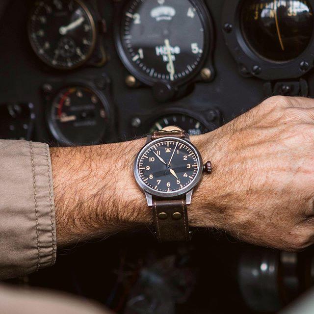 Laco Modell Westerland Erbstuck Fliegeruhren Westerland Uhren