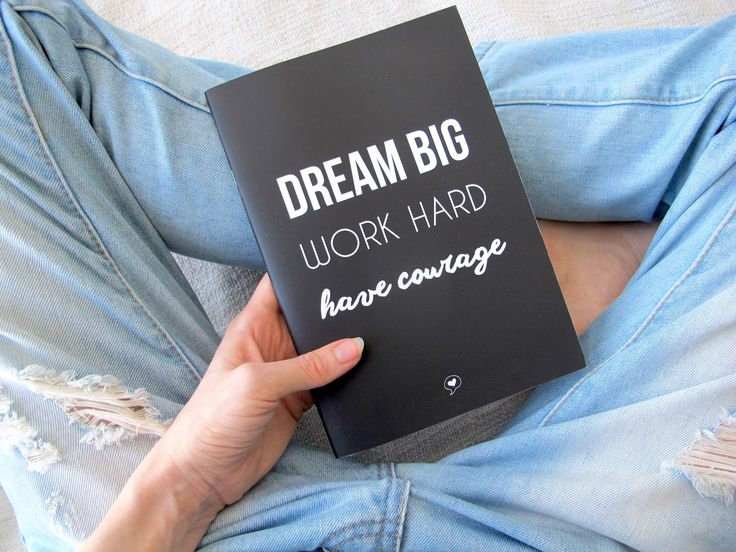 WORDS WITH HEART | Dream Big Notebook. //  social. good. notebook. stationary. girls. enterprise. made in australia. recycled. eco-friendly. impact. education for girls.