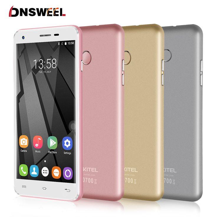 Original Oukitel U7 Plus Cell Phone MT6737 Quad Core 2G+16G 2500mAh 1280*720 HD Screen 4G LTE Smartphone GPS 13MP mobile phone
