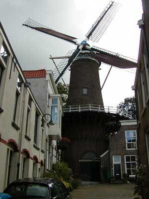 The city grew around the Mill, Gouda