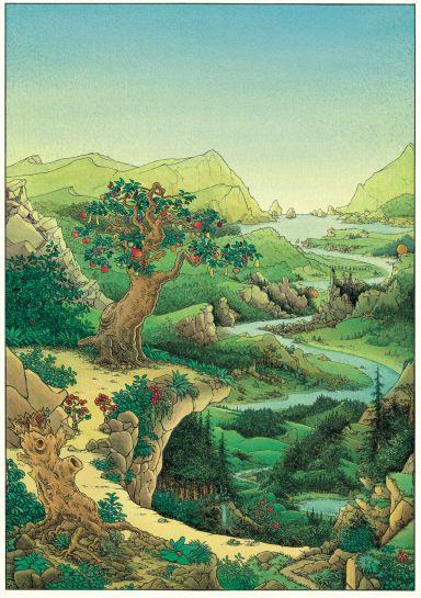 """""""Ma vallée""""-Claude Ponti"""
