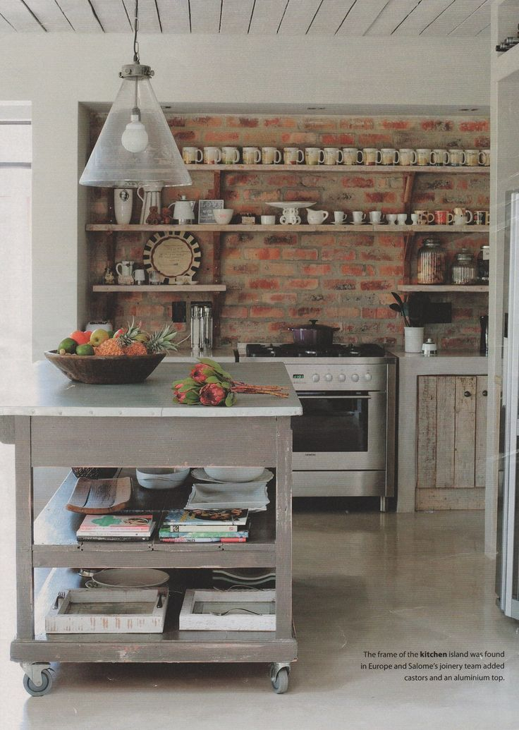 Milestone Kitchens loves this free standing kitchen.