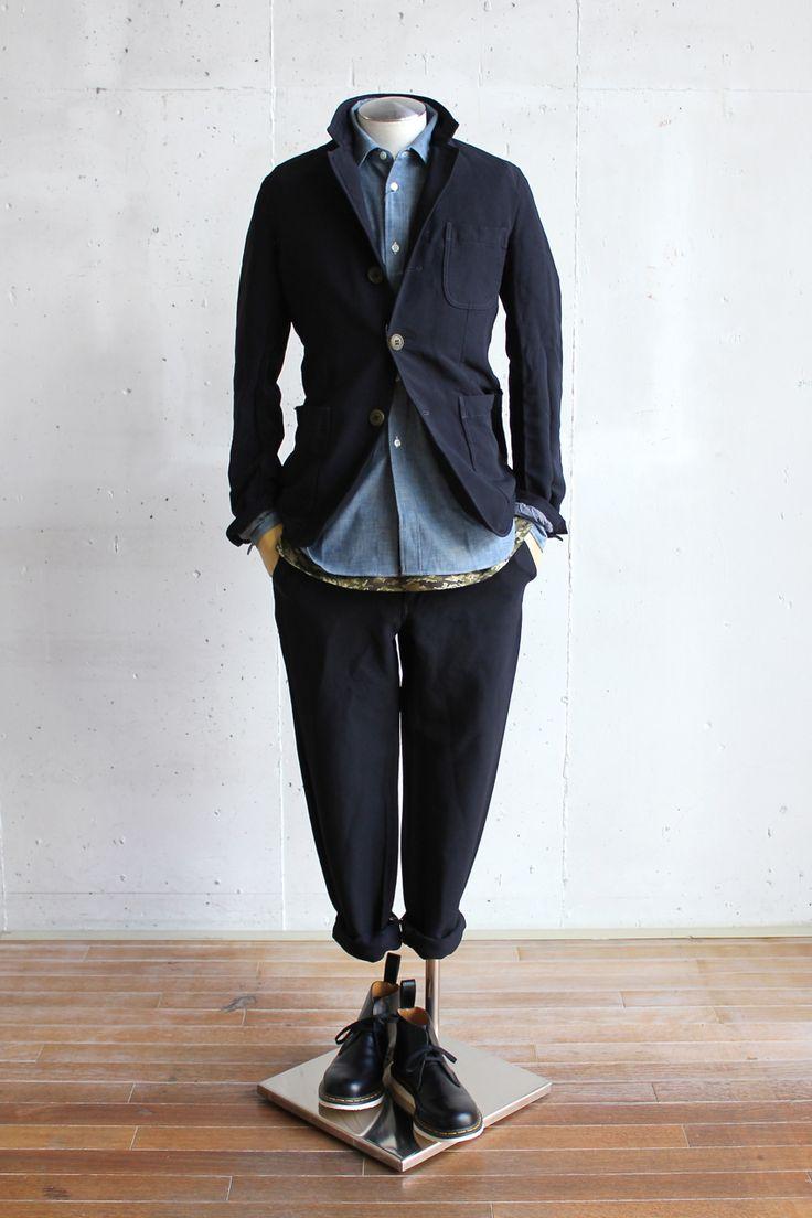 Suggestion of The Comme des Garçons Homme Deux Style