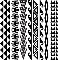 Tatuagem tribal havaiana                                                       …