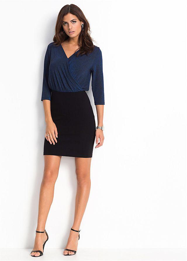 Модное блестящее платье марки BODYFLIRT. Отличная модель для гламурного выхода! Длина ок. 90 см (разм. 36/38). Низ: 87% вискоза, 11% полиэстер, 2% эластан; Верх: 60% вискоза, 35% люрекс , 5% эластан