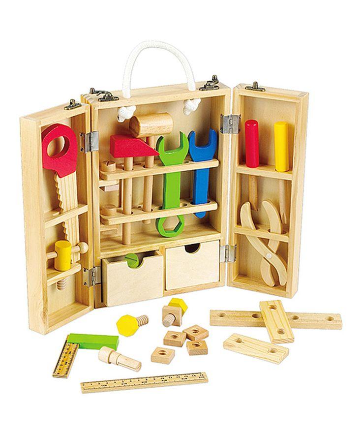 Loving this Carpenter Toy Set on #zulily! #zulilyfinds