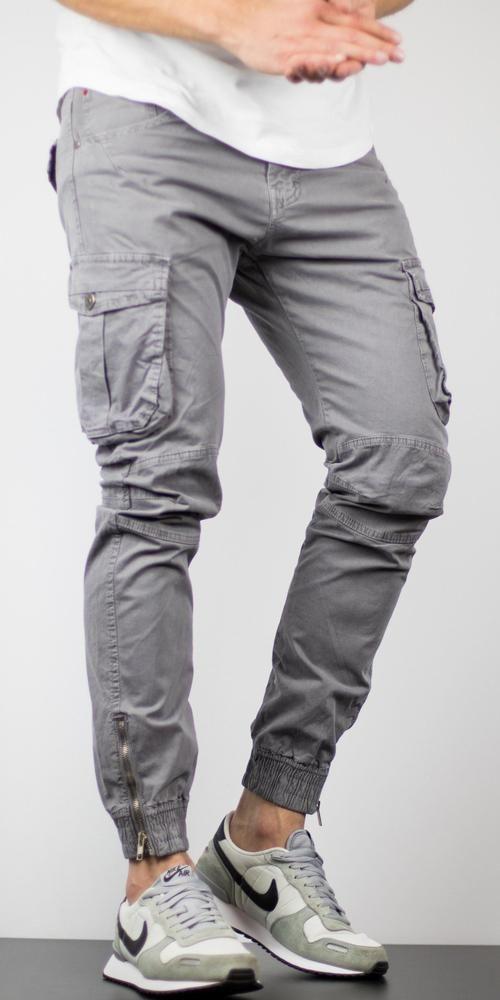 più recente a688d 5e7a0 Pantaloni COMBAT - Gri   Blugi Barbati   Parachute pants ...