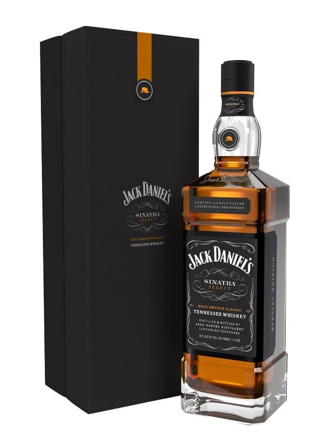 Jack Daniel's Sinatra Select Tennessee Whiskey.Jack Daniel's pays a respectful homage to Frank Sinatra himself with this unique blend. | spiritedgifts.com