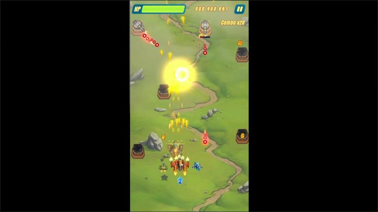 HAWK Freedom Squadron ARCADE SHOOTER Game 1 - HAWK Freedom Squadron is a Android Free-to-play Arcade Shooter Multiplayer Game