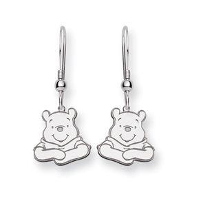 Disney's Winnie the Pooh Wire Earrings in Sterling Silver $72