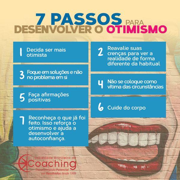 Uma visão positiva é questão de treino. Eu vou treinar, e vocês?