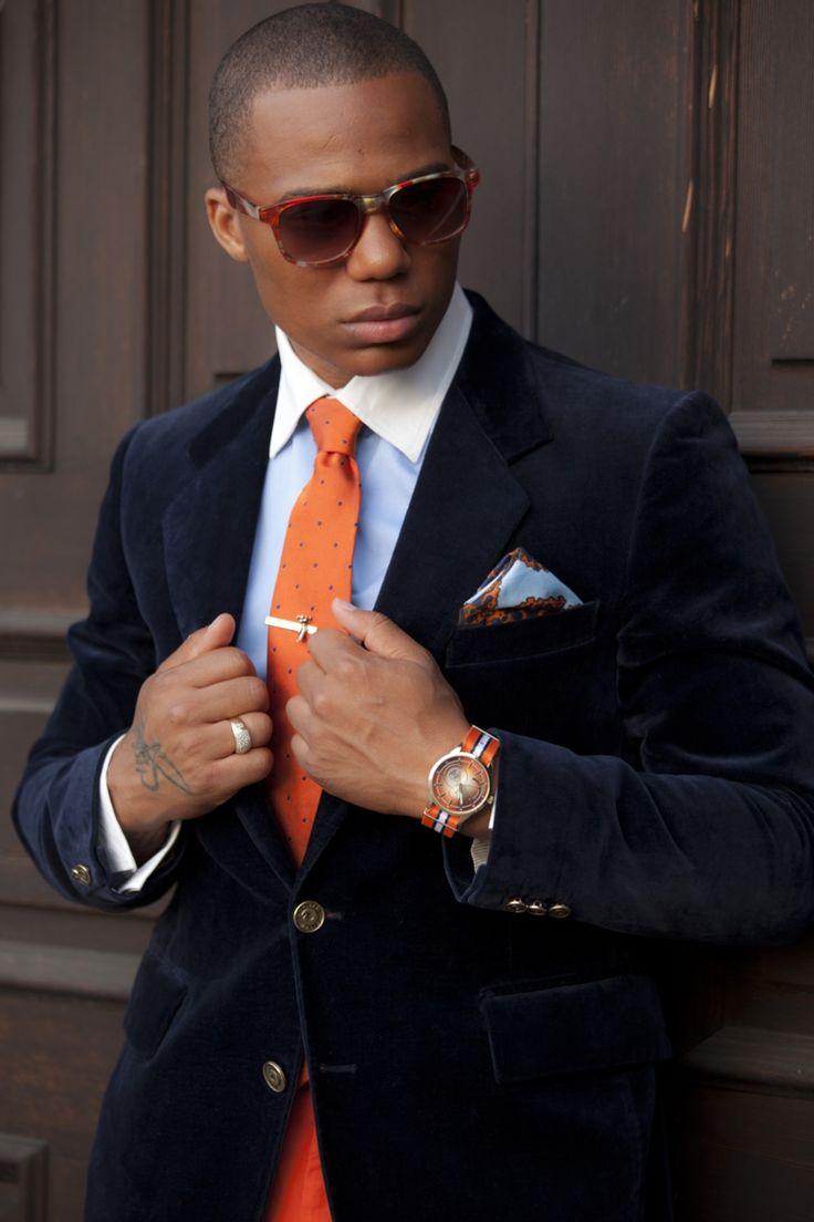die besten 25 orange krawatte ideen auf pinterest dreiteilige anz ge m nneranzug stil und. Black Bedroom Furniture Sets. Home Design Ideas