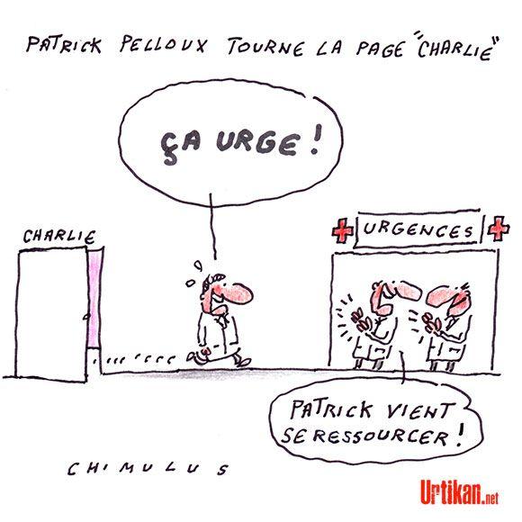 Patrick Pelloux : «Toujours là toujours prêt» - Dessin du jour - Urtikan.net