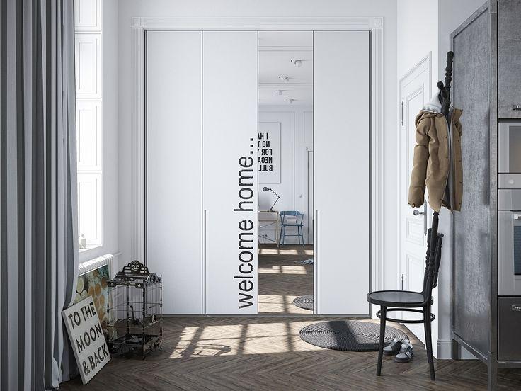 Scandinavian apartment in Murmansk Скандинавский интерьер в Мурманске