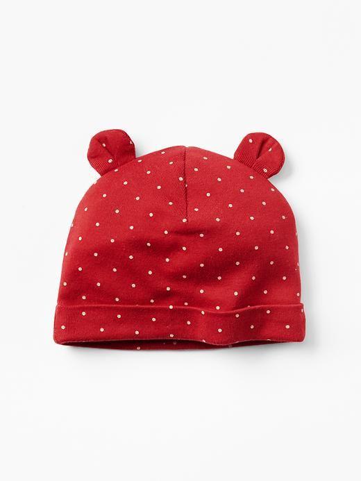 Dot bear hat Product Image