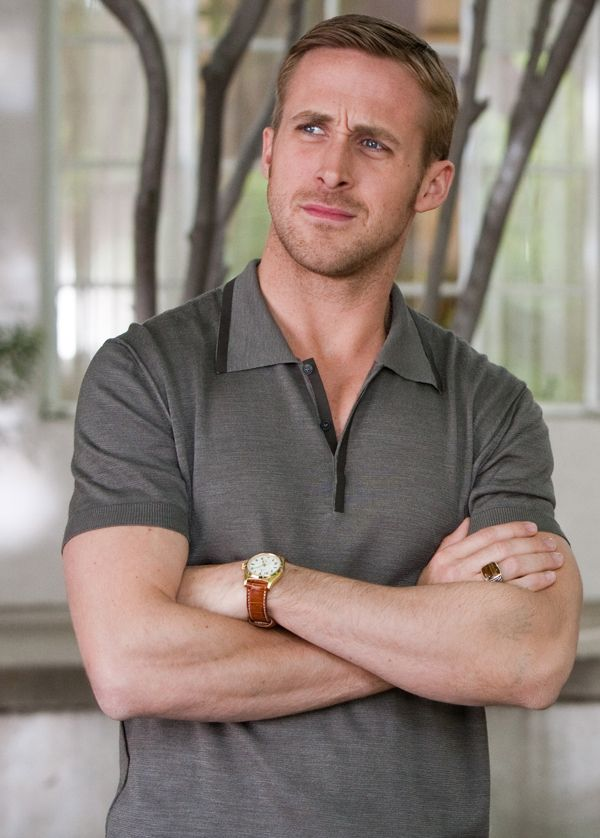 Ryan Gosling confused by something