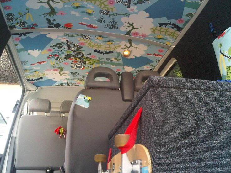 Roof lining show us some pictures vw t4 forum for Vw t4 interior designs