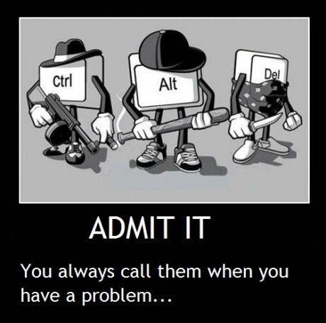 Admit It!!!Geek, Funny Pics, My Friends, So True, Funny Stuff, Humor, Alt Del, Life Savers, Ctrl Alt
