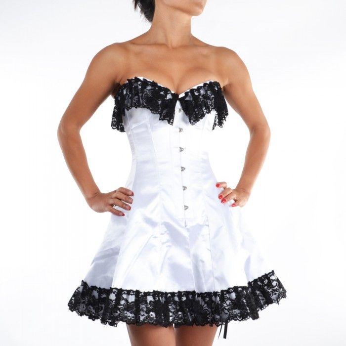 25+ cute White corset dress ideas on Pinterest | Victorian ...