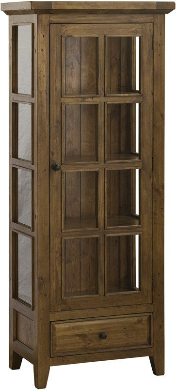 Hillsdale Furniture 5225-884W Tuscan Retreat Small Display Cabinet